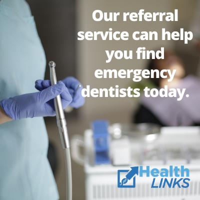 find an emergency dentist near you